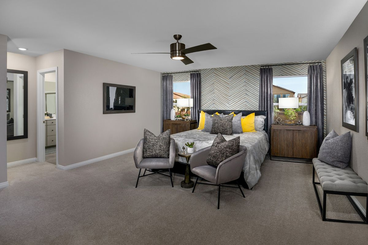 Bedroom featured in the Plan 2469 Modeled By KB Home in Las Vegas, NV