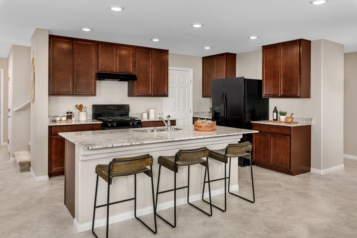 Kitchen featured in the Plan 1768 Modeled By KB Home in Las Vegas, NV
