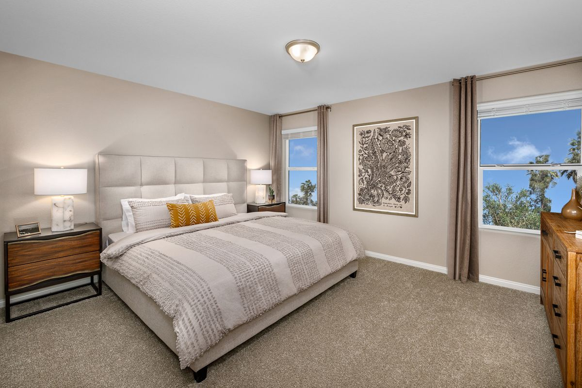 Bedroom featured in the Plan 1768 Modeled By KB Home in Las Vegas, NV