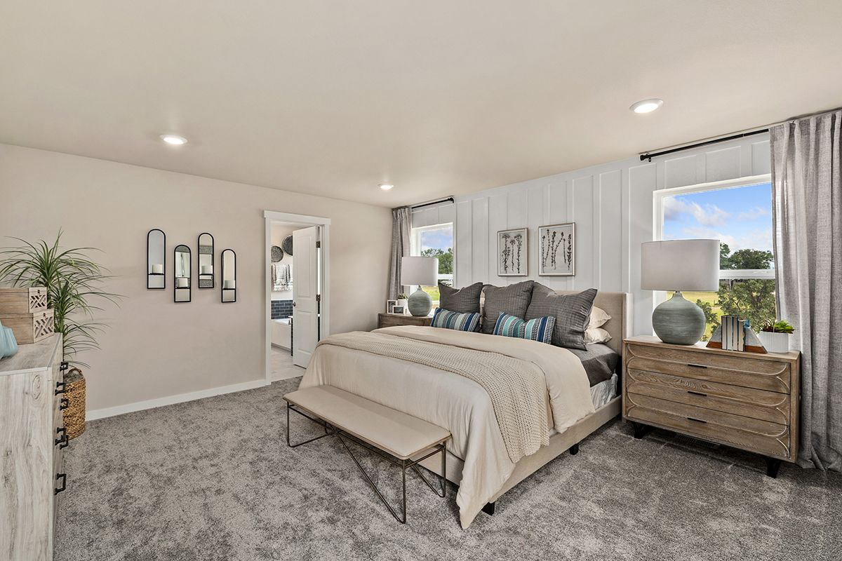 Bedroom featured in the Plan 2065 Modeled By KB Home in Tacoma, WA