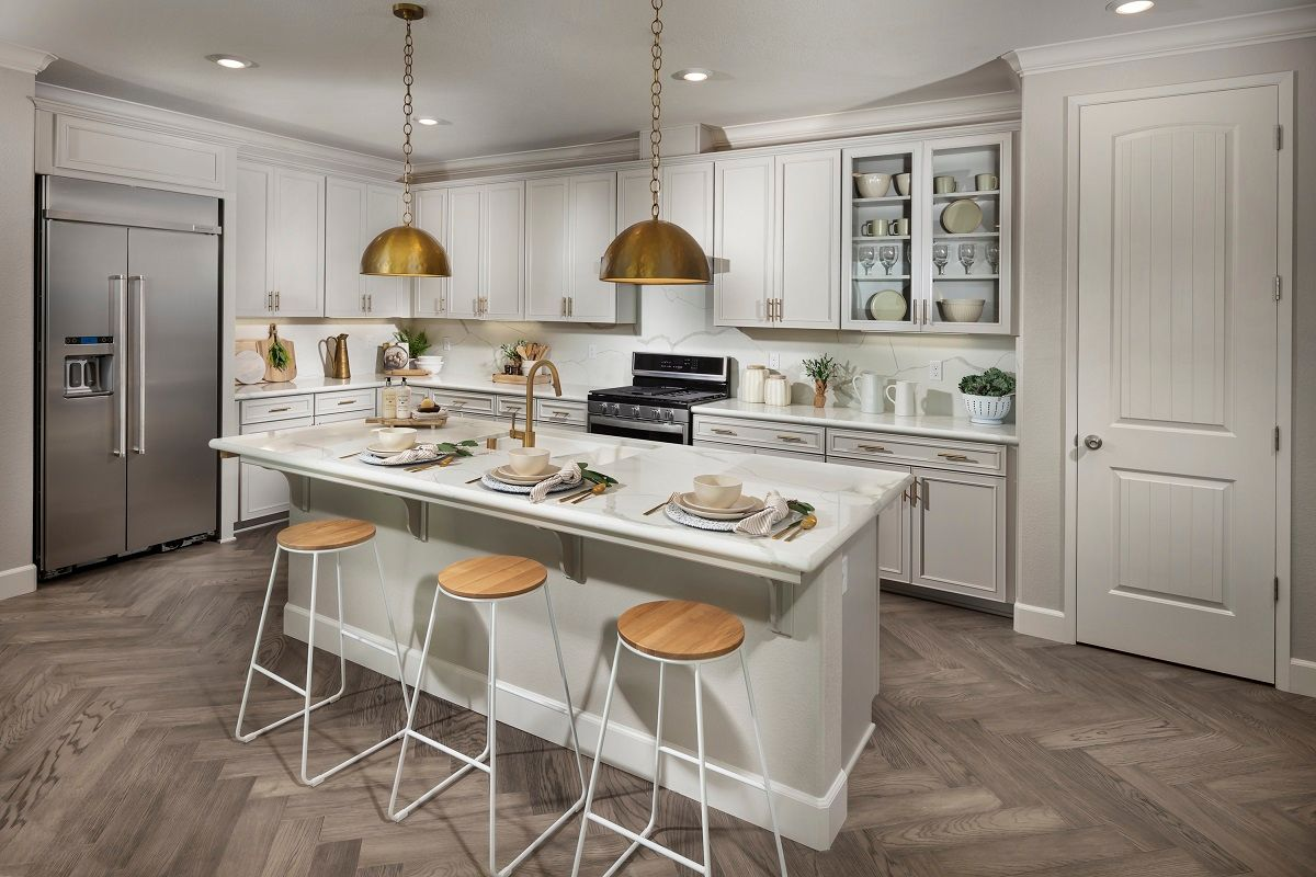 Kitchen featured in the Plan 1860 Modeled By KB Home in Fresno, CA