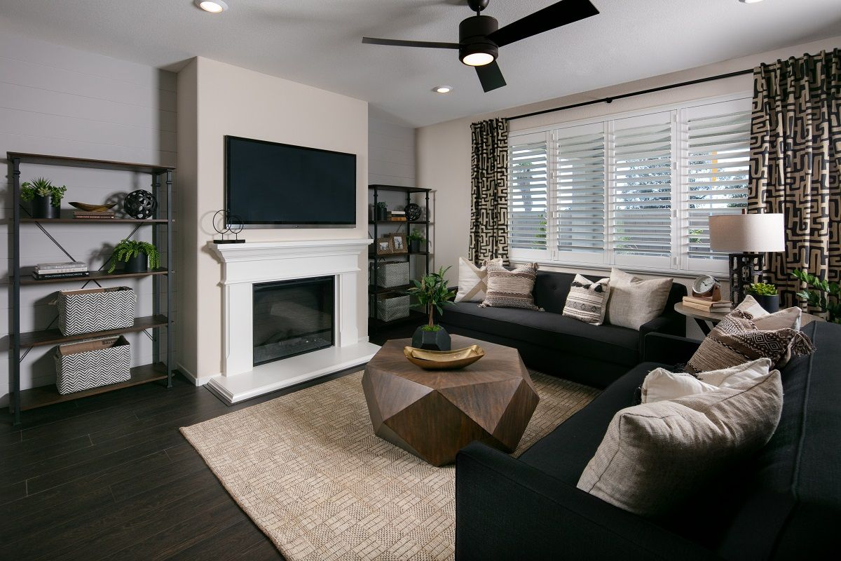 Living Area featured in the Plan 1773 Modeled By KB Home in Fresno, CA