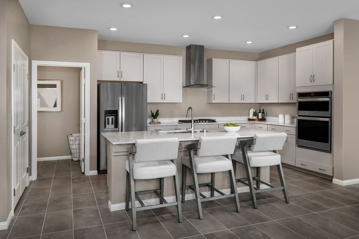 Kitchen featured in the Plan 1849-X Modeled By KB Home in Las Vegas, NV