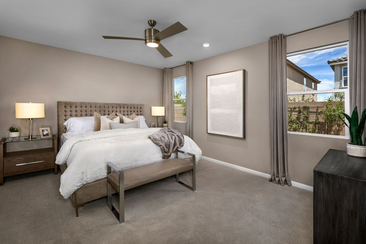 Bedroom featured in the Plan 1849-X Modeled By KB Home in Las Vegas, NV