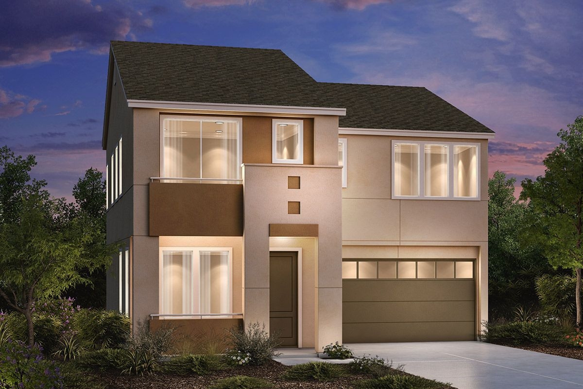 Exterior featured in the Plan 2132 By KB Home in Santa Rosa, CA