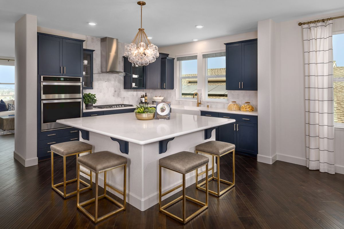 Kitchen featured in the Plan 3302 Modeled By KB Home in Santa Rosa, CA