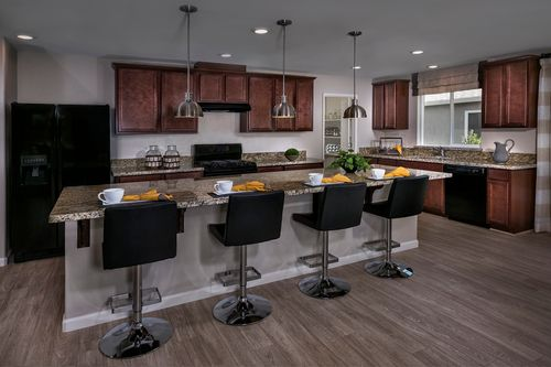 Kitchen-in-The Kayla-at-Olive Lane-in-Fresno