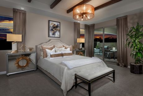 Bedroom-in-Plan 1965 Modeled-at-Caledonia at Summerlin – Collection II-in-Las Vegas
