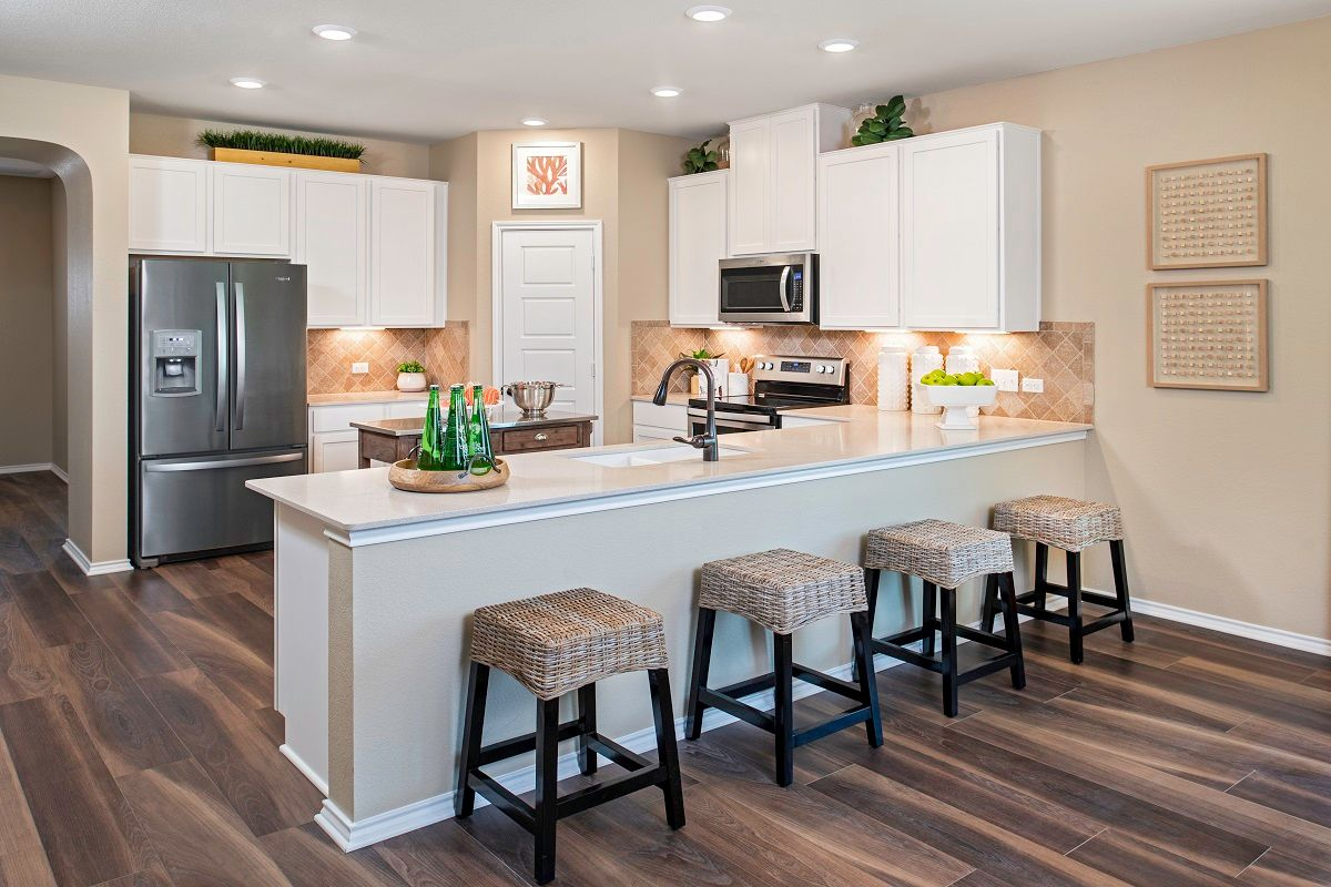 Kitchen-in-Plan A-2089 Modeled-at-Stagecoach Crossing-in-Kyle