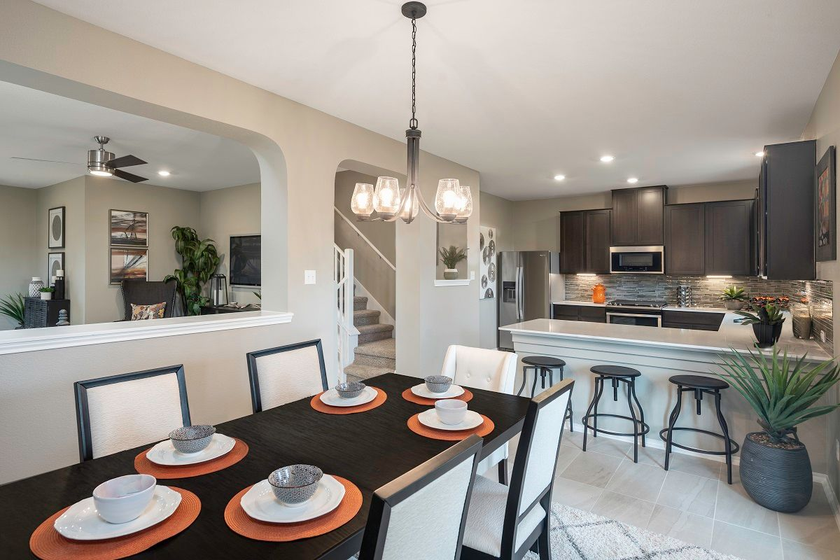 Kitchen-in-Plan F-2038 Modeled-at-Villas at Star Ranch-in-Hutto