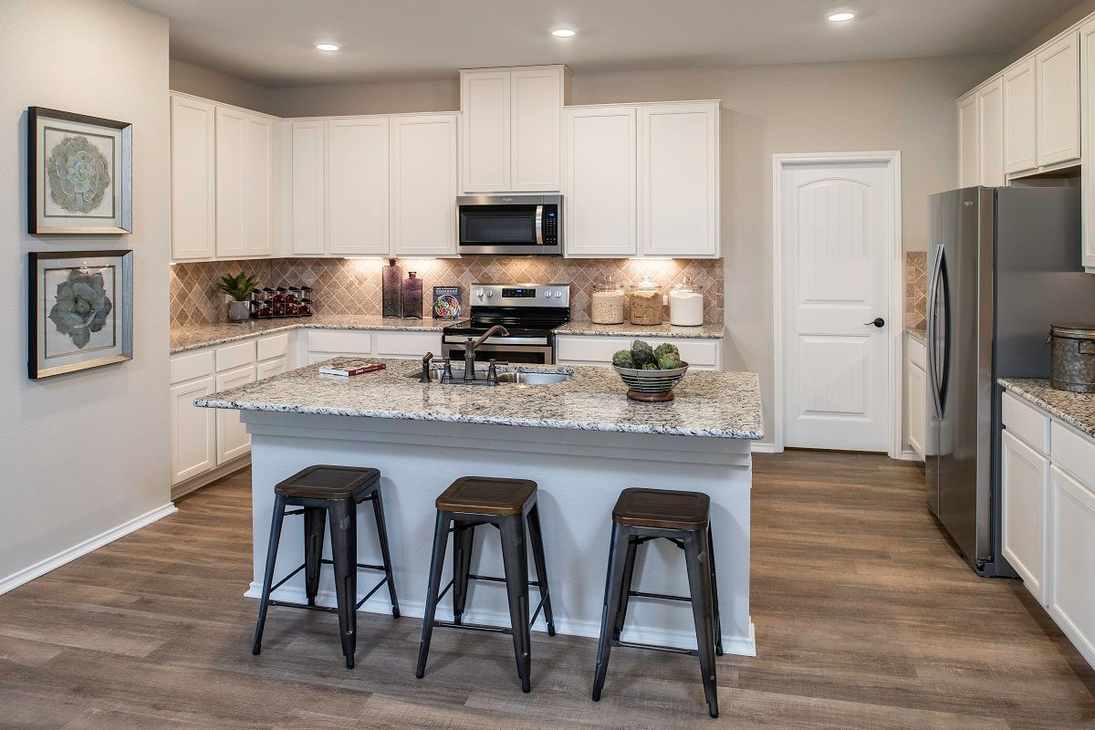 Kitchen-in-Plan 1965 Modeled-at-Sunset Hills-in-Kyle