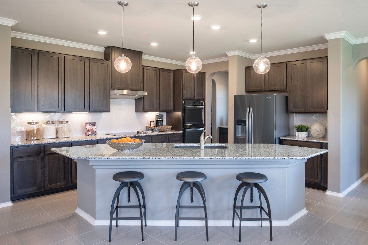 Kitchen-in-Plan 3475 Modeled-at-Sunset Hills-in-Kyle