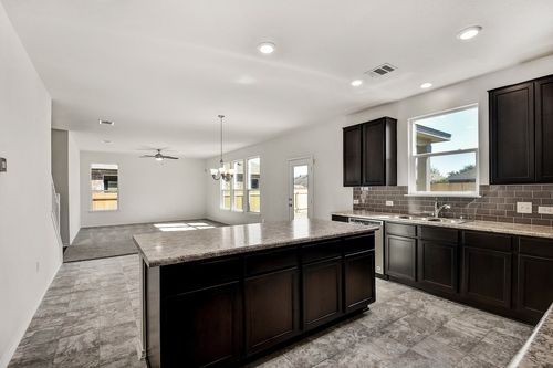 Kitchen-in-Plan A-2469-at-Meadows at Clearfork-in-Lockhart