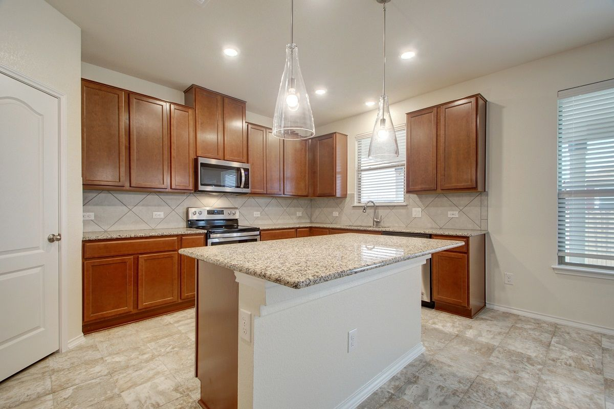 Kitchen-in-A-2655-at-Presidential Meadows – Classic Collection-in-Manor
