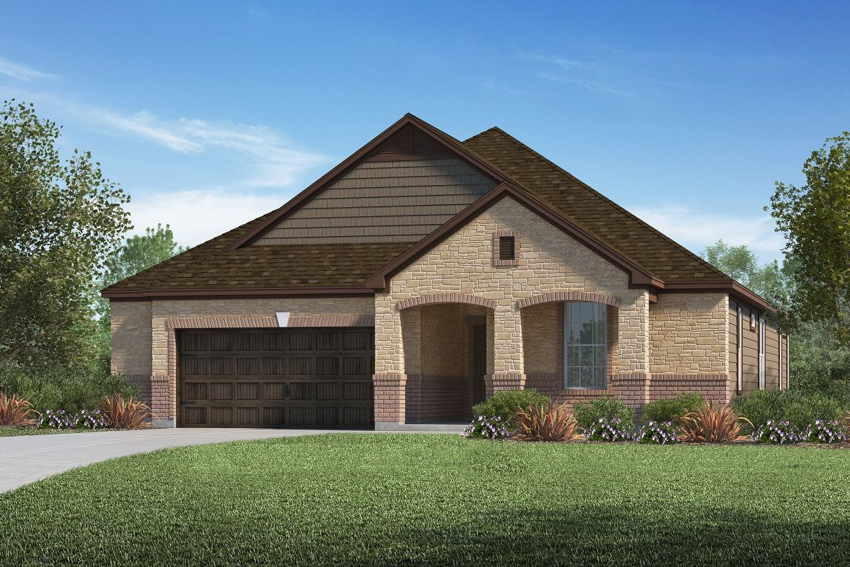 Exterior featured in the Plan 2382 By KB Home in Austin, TX