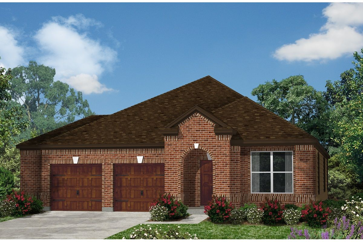 Exterior featured in the Plan 2089 Modeled By KB Home in Austin, TX