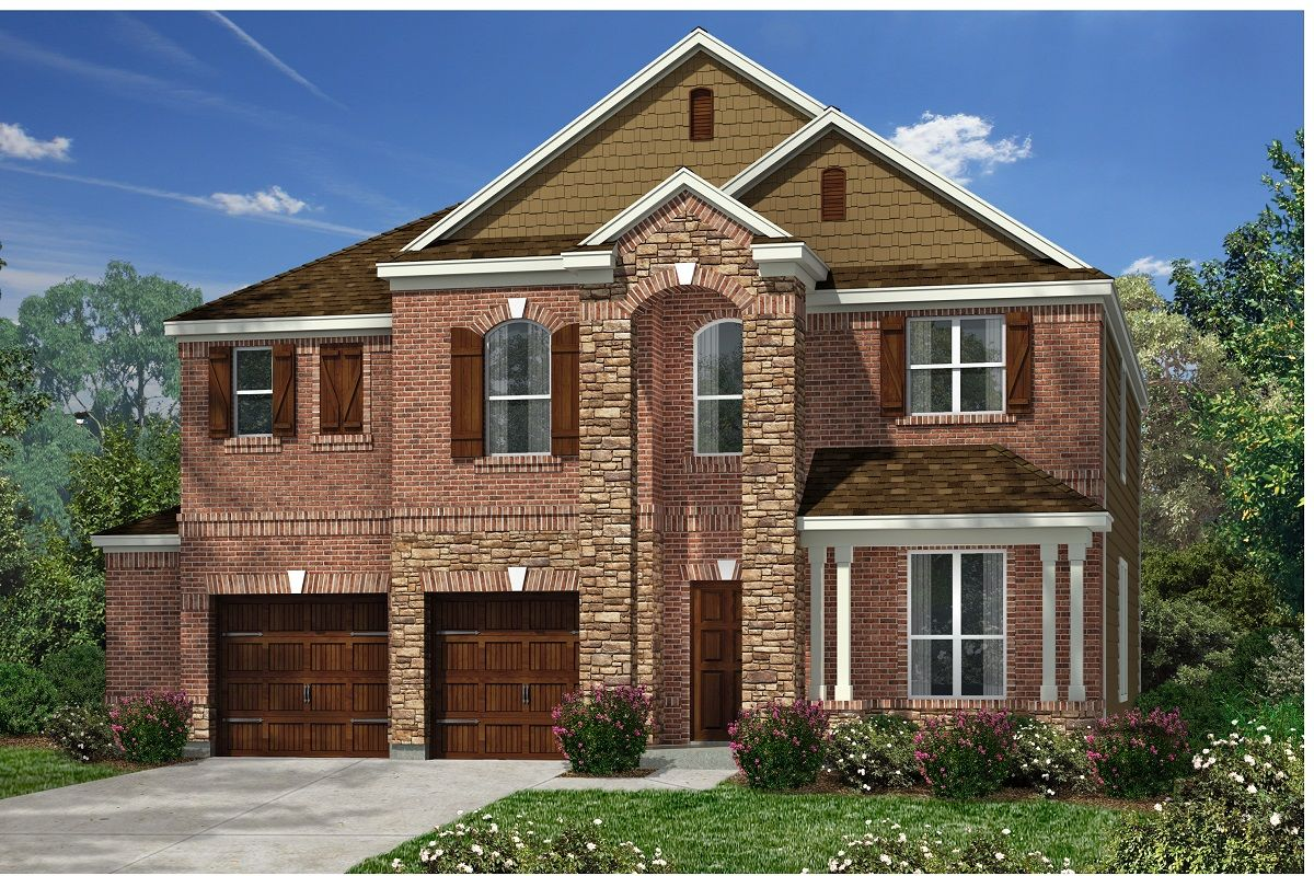 Exterior featured in the Plan 2755 By KB Home in Austin, TX