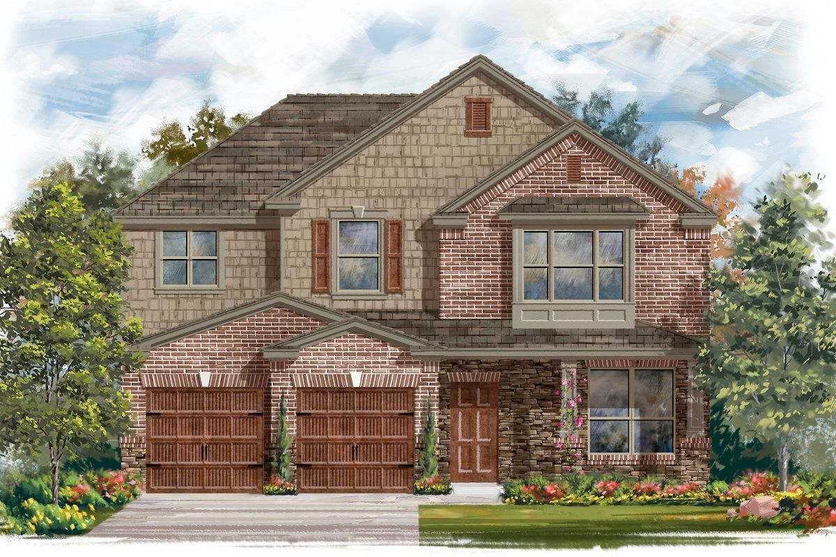 Exterior featured in the Plan A-2797 By KB Home in Austin, TX