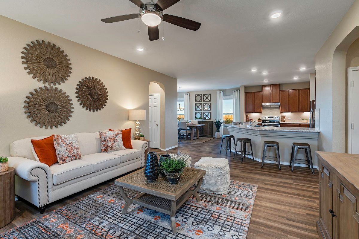 'Highlands at Grist Mill' by KB Home - Austin in Austin