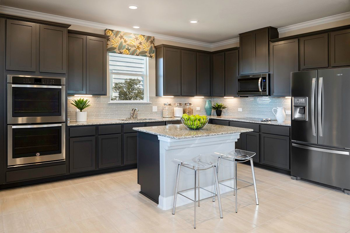 Kitchen featured in the Plan 2708 Modeled By KB Home in Austin, TX