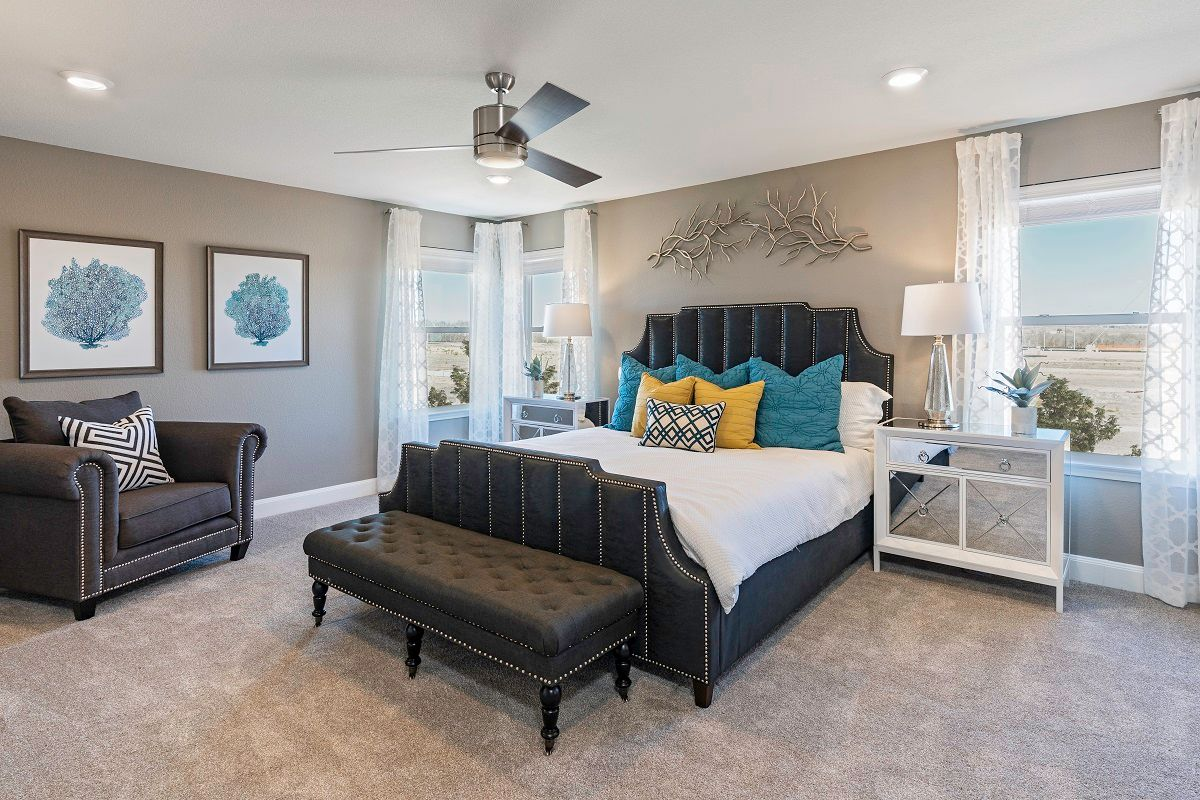 Bedroom featured in the Plan 2708 Modeled By KB Home in Austin, TX