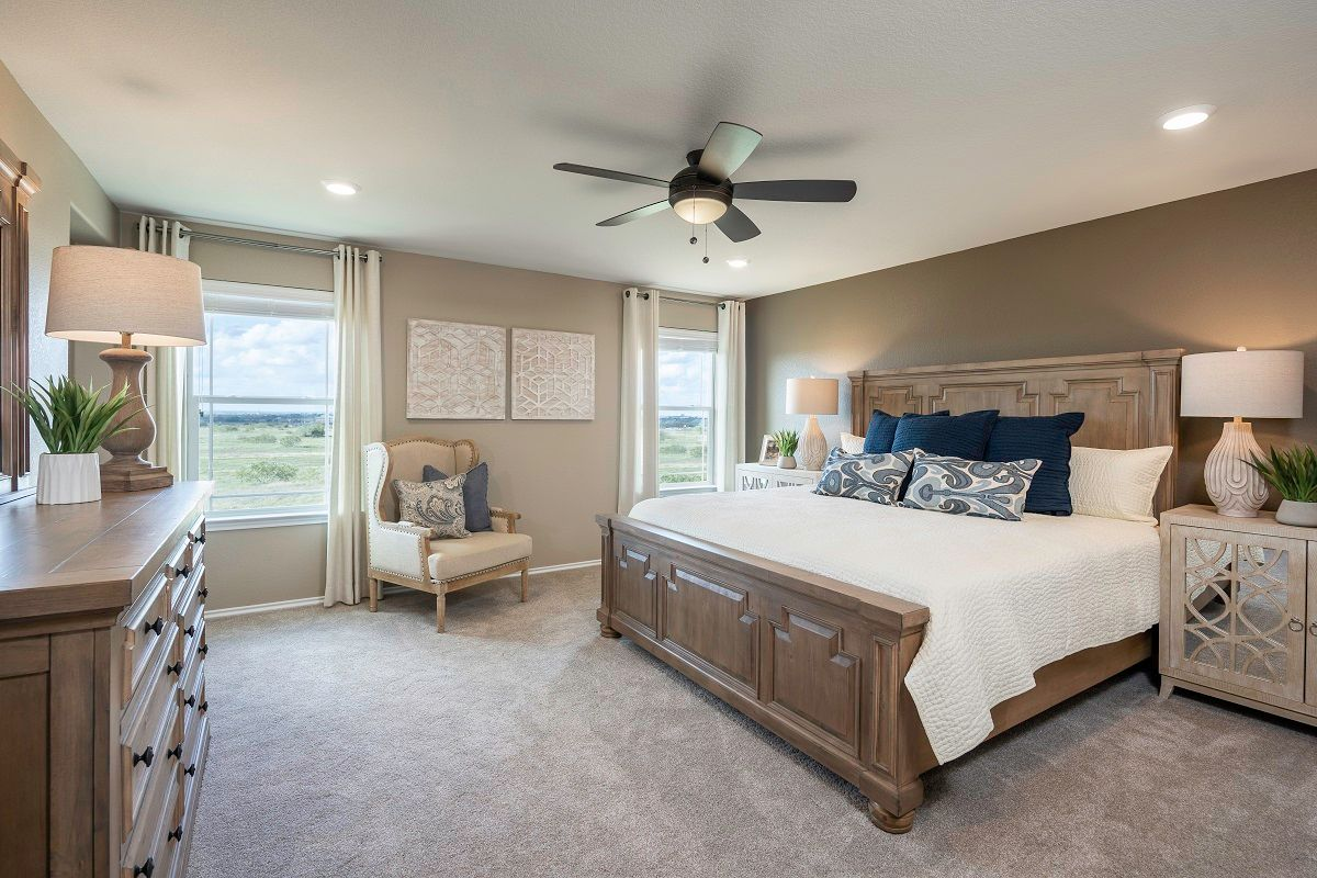 Bedroom featured in the Plan E-2403 Modeled By KB Home in Austin, TX