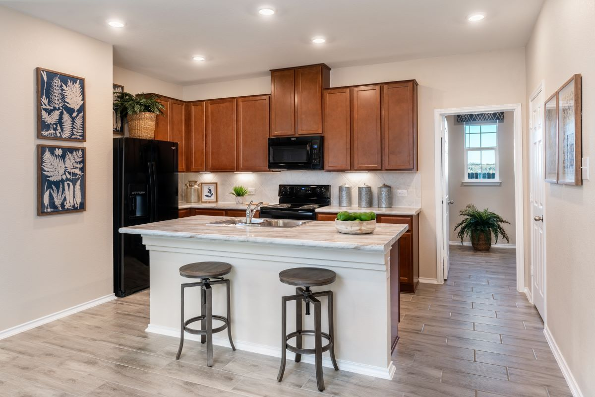 Kitchen featured in the Plan 1491 By KB Home in Killeen, TX