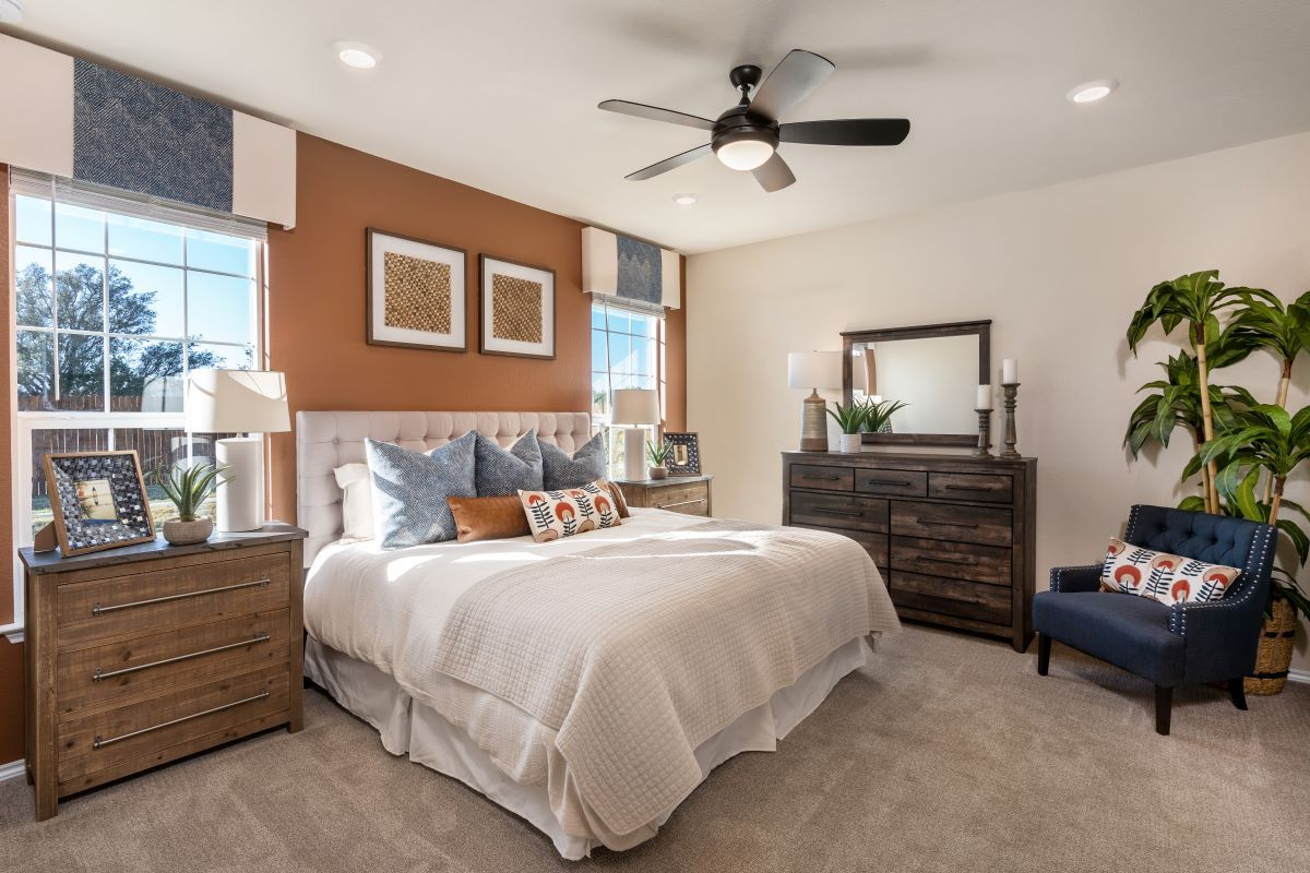 Bedroom featured in the Plan 1491 By KB Home in Killeen, TX