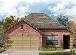 Plan 1246 - West Canyon Trails: Belton, Texas - KB Home