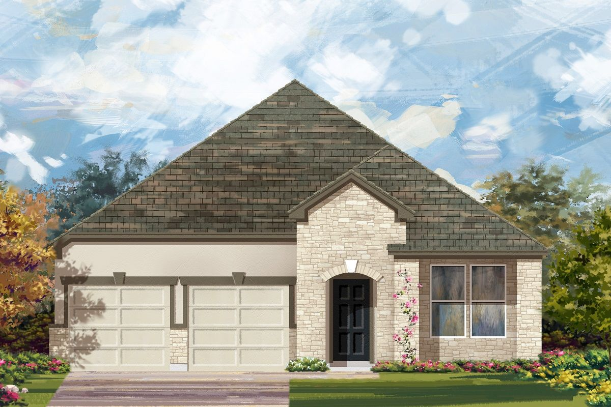Exterior featured in the Plan 2089 By KB Home in Killeen, TX