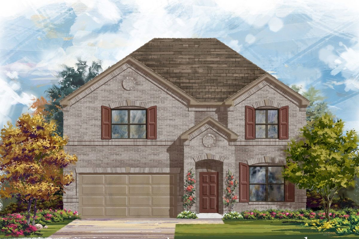 Exterior featured in the Plan 2755 By KB Home in Killeen, TX