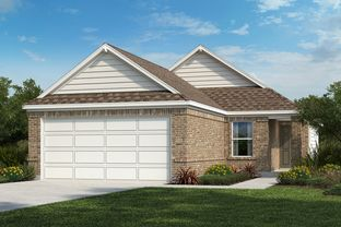 Plan 1360 - EastVillage - Heritage Collection: Manor, Texas - KB Home