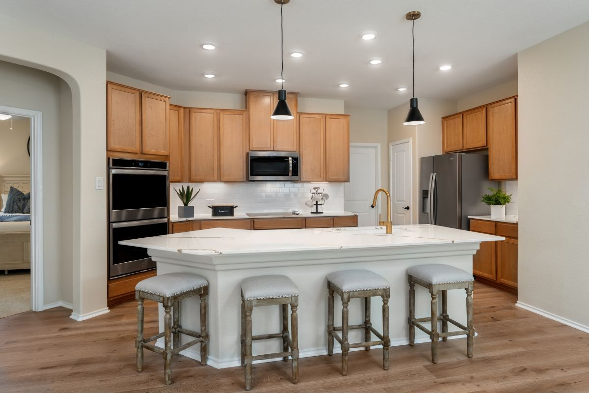 Kitchen featured in the Plan 2412 By KB Home in Killeen, TX