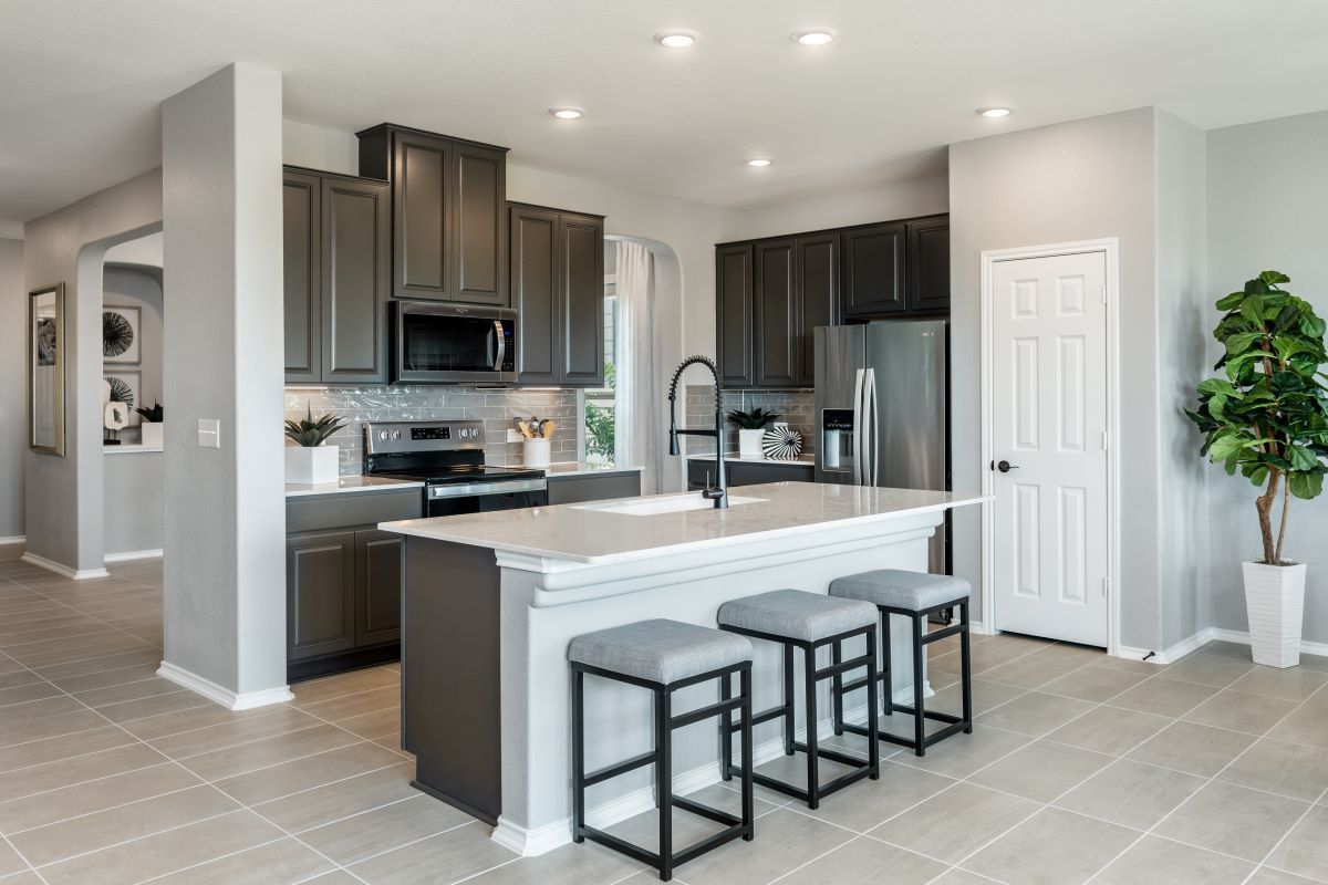 Kitchen featured in the Plan 2502 By KB Home in Killeen, TX