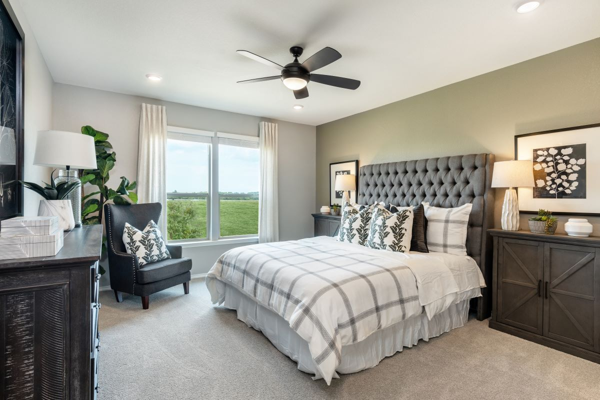 Bedroom featured in the Plan 2502 By KB Home in Killeen, TX