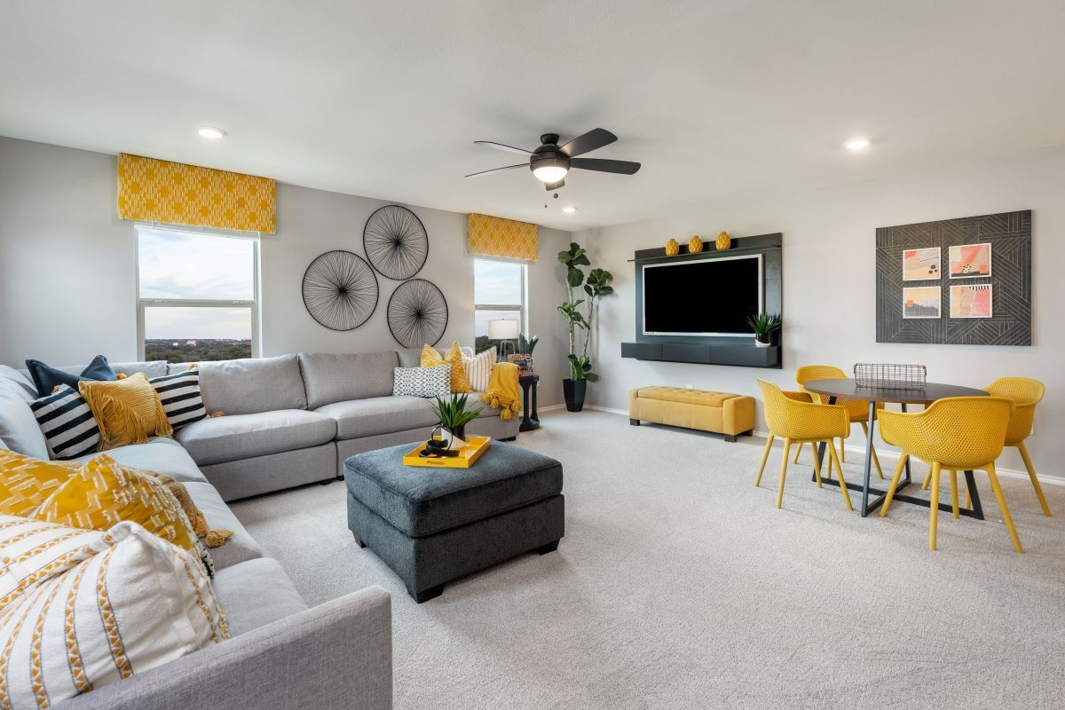 Living Area featured in the Plan 2502 By KB Home in Killeen, TX