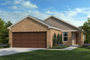 Plan 1360 - Salerno - Heritage Collection: Round Rock, Texas - KB Home