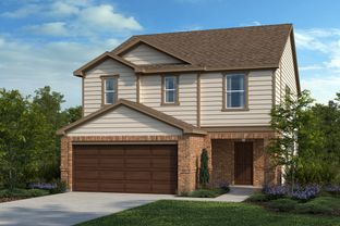 Plan 2070 - Salerno - Heritage Collection: Round Rock, Texas - KB Home