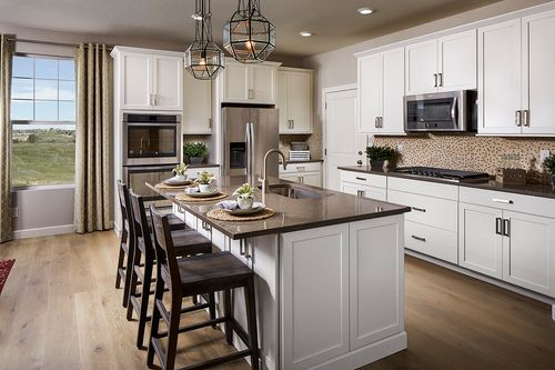 Kitchen-in-Montrose 2839 Modeled-at-The Reserve at Somerset Meadows-in-Longmont