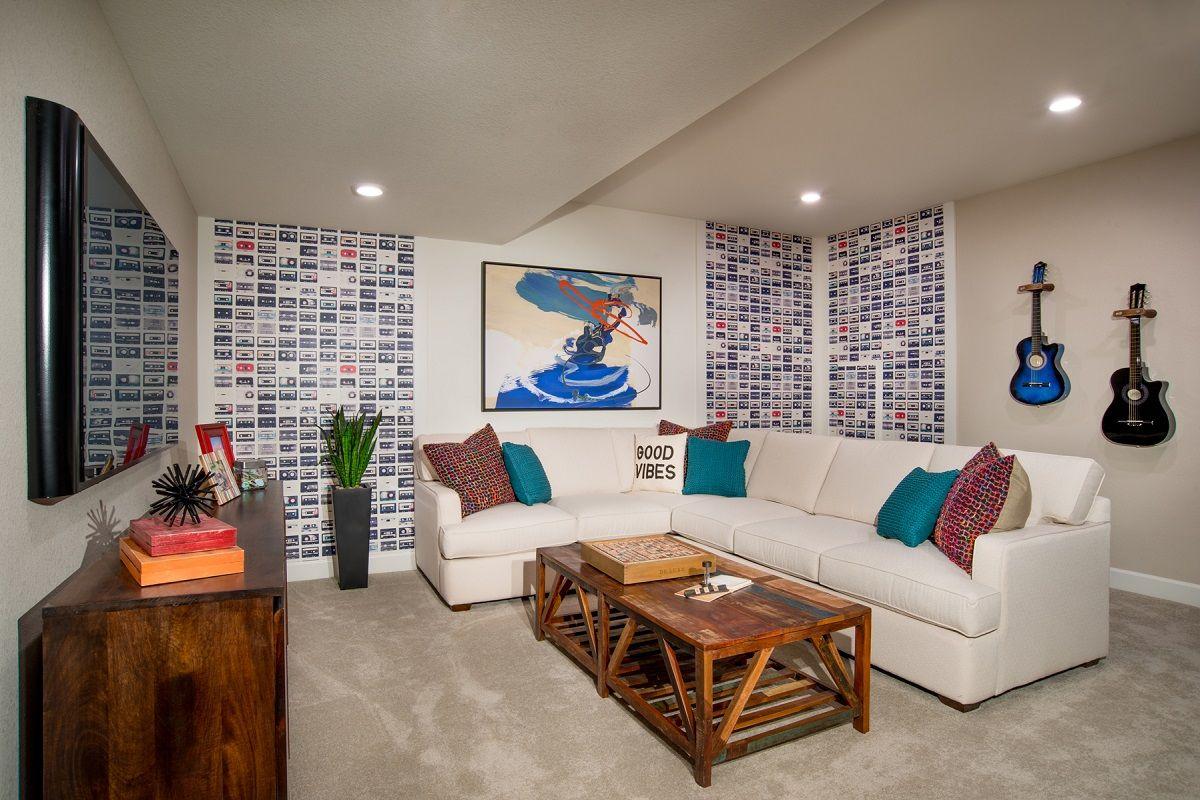 Media-Room-in-Redwood 1762 Modeled-at-Copperleaf Villas-in-Aurora