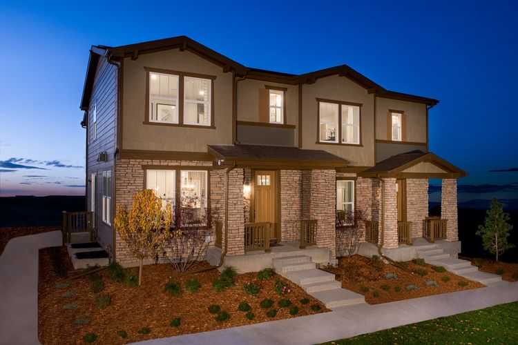 Exterior featured in the Willow 1682 Modeled By KB Home in Denver, CO