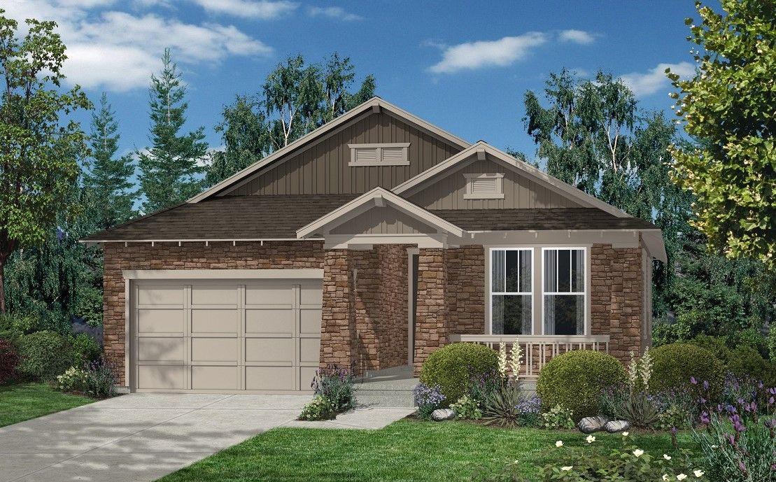 Trailside Patio Homes By KB Home In Denver Colorado