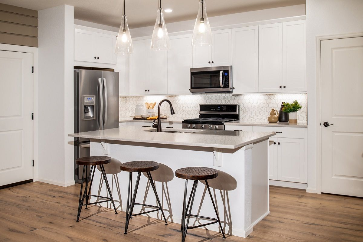 Kitchen-in-Redwood 1963 Modeled-at-Homestead Hills Villas-in-Thornton