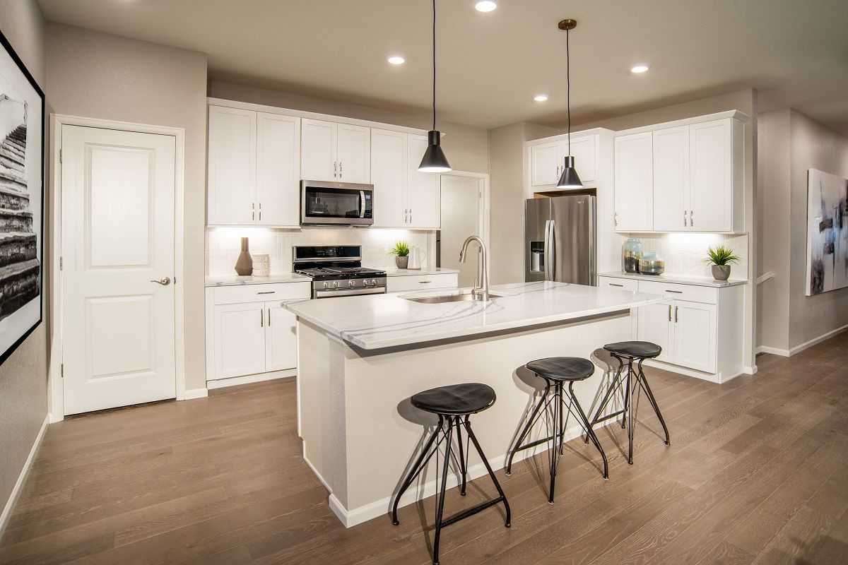 Kitchen featured in the Plan 1382 Modeled By KB Home in Denver, CO