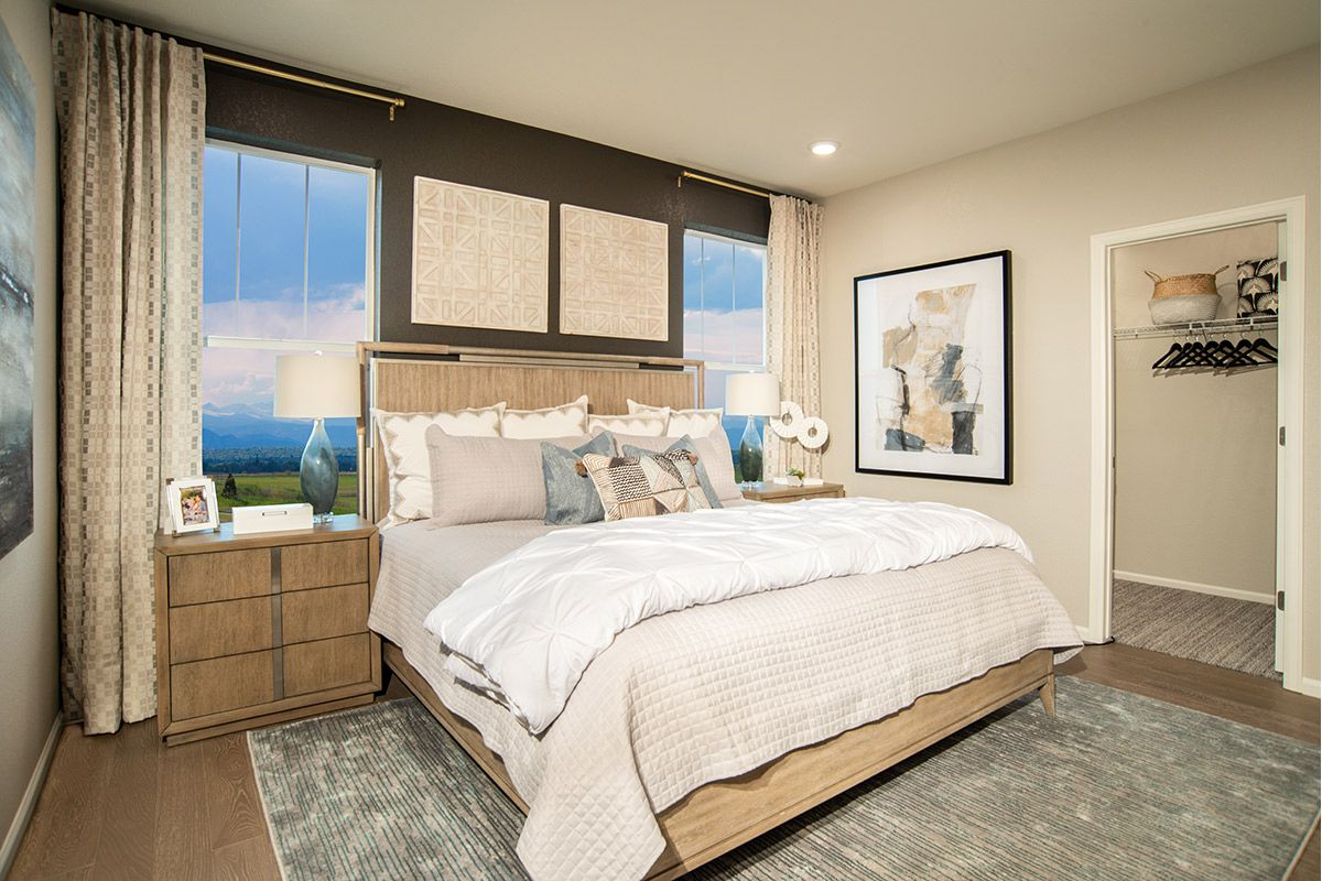 Bedroom featured in the Plan 1382 Modeled By KB Home in Denver, CO