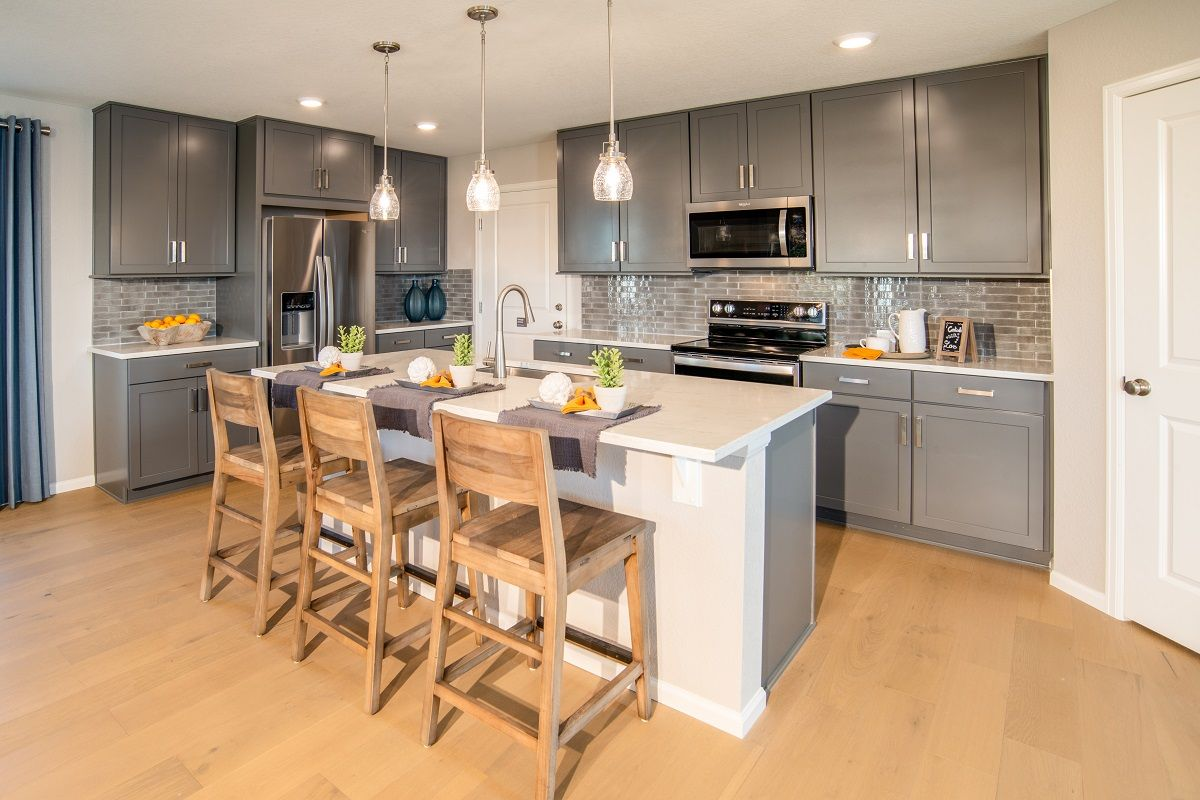 Kitchen featured in the Plan 2193 Modeled By KB Home in Denver, CO
