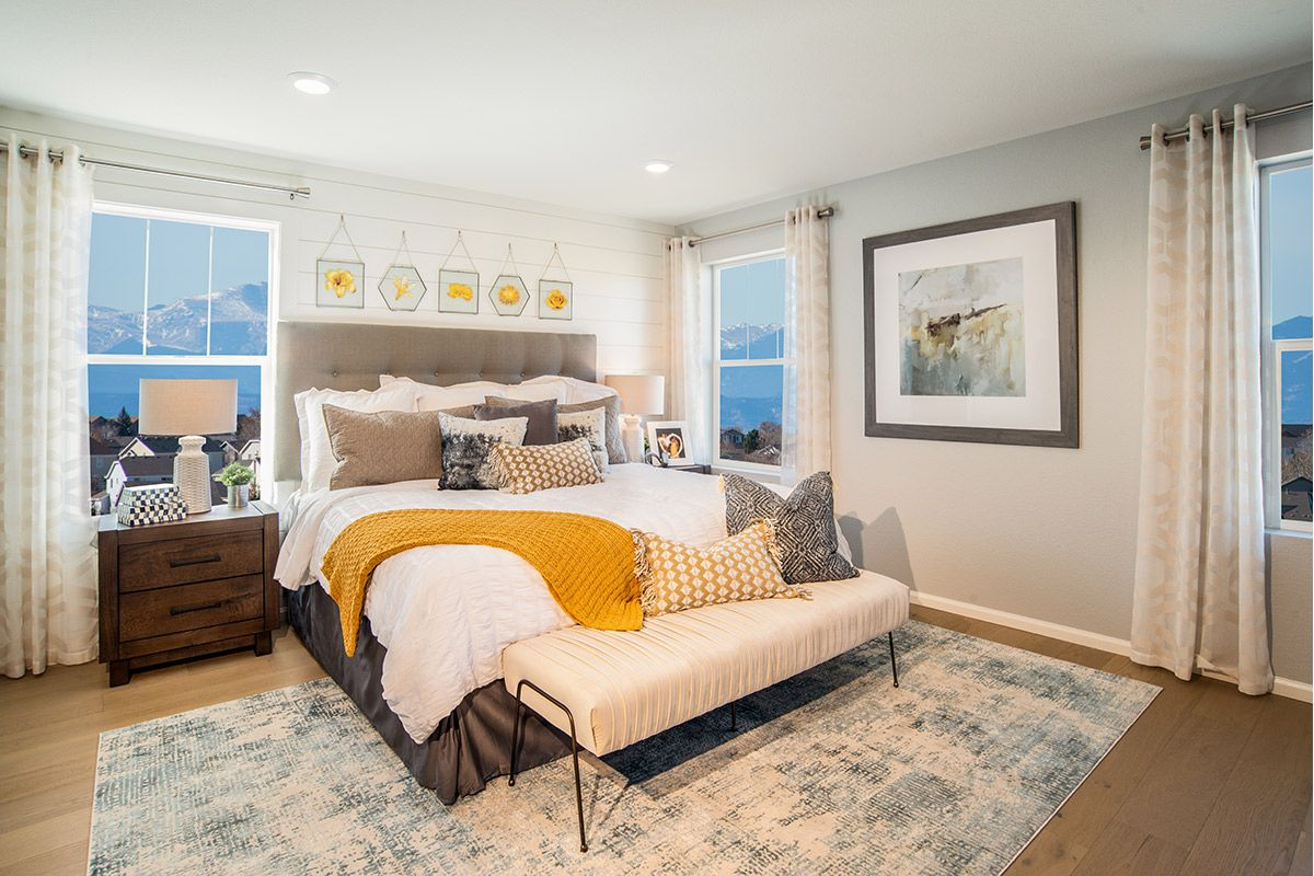 Bedroom featured in the Plan 2193 Modeled By KB Home in Denver, CO