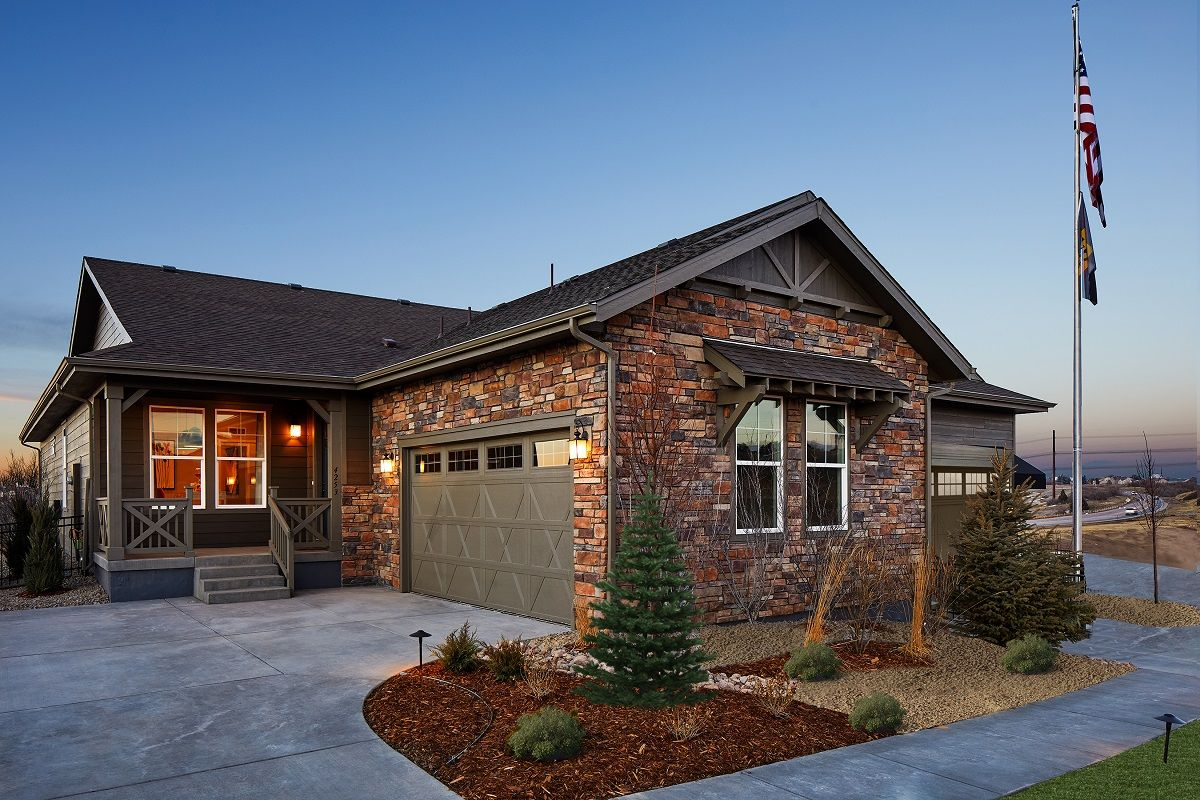 'Terrain - Ranch Villa Collection' by KB Home - Colorado in Denver
