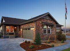 Plan 1780 Modeled - Terrain - Ranch Villa Collection: Castle Rock, Colorado - KB Home