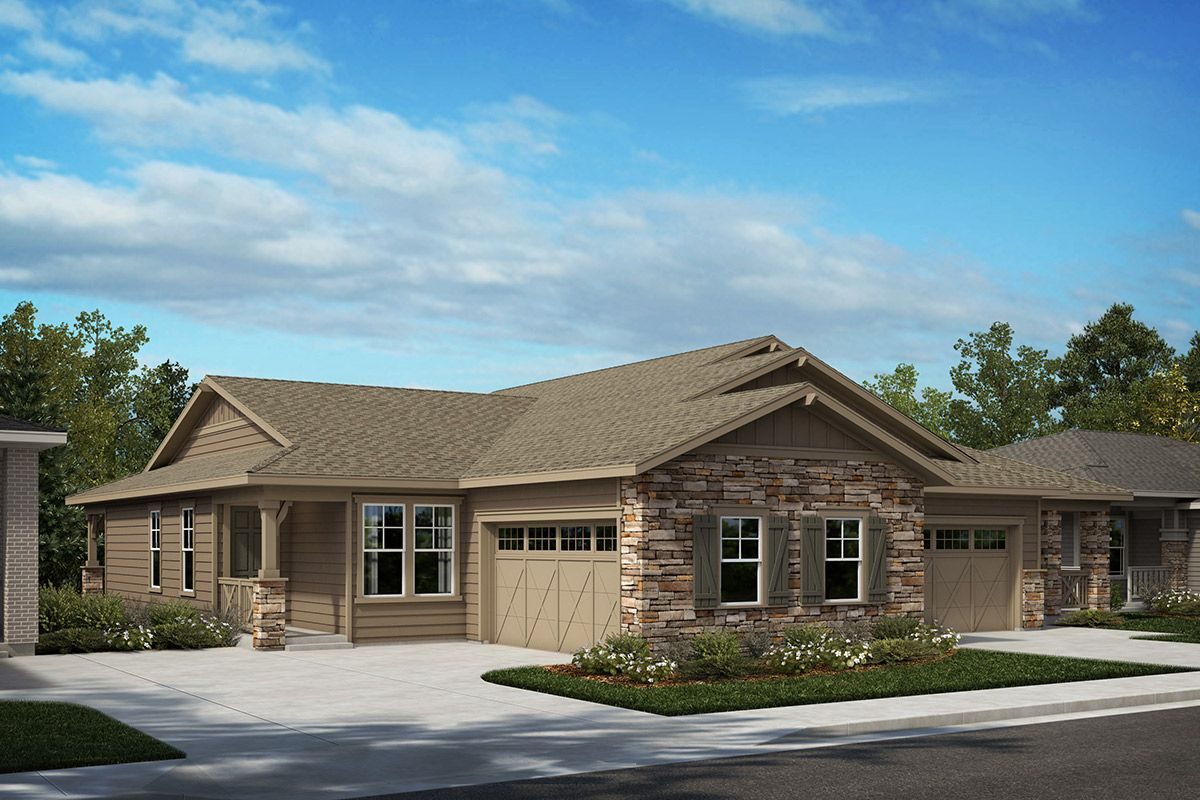 Exterior featured in the Plan 1498 By KB Home in Denver, CO